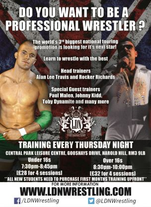 LDN Wrestling training